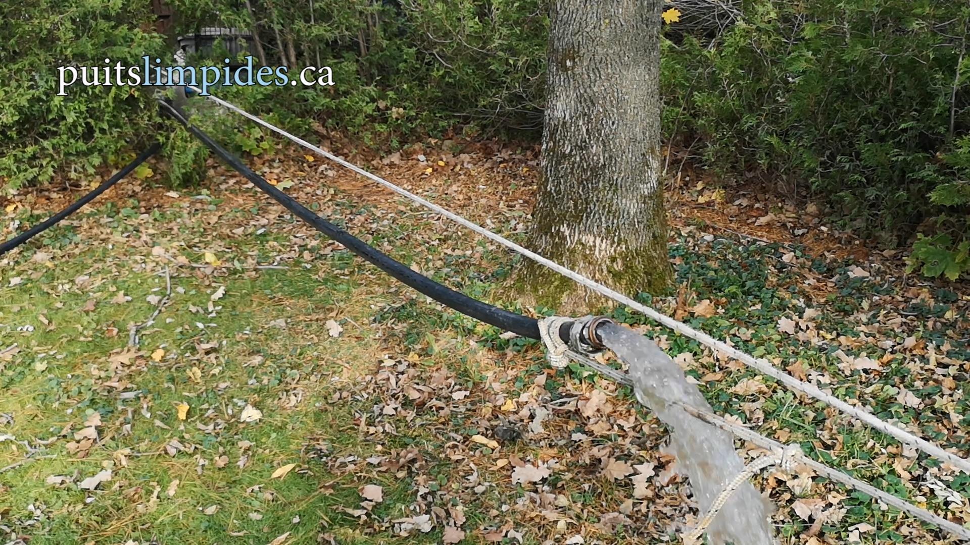 Le nettoyage de puits artésien donne à coup sûr d'excellents résultat avec une eau limpide.