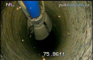 Ici l'absorbeur de couple est inefficace car ils devrait avoir le même diamètre que le puits.